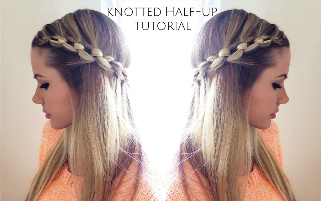 Knotted Half Up