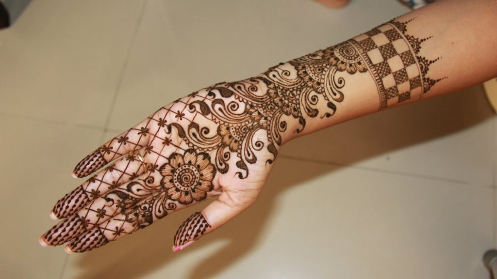 12 Simple Mehndi Design For Left Hand Collected By Tips Clear