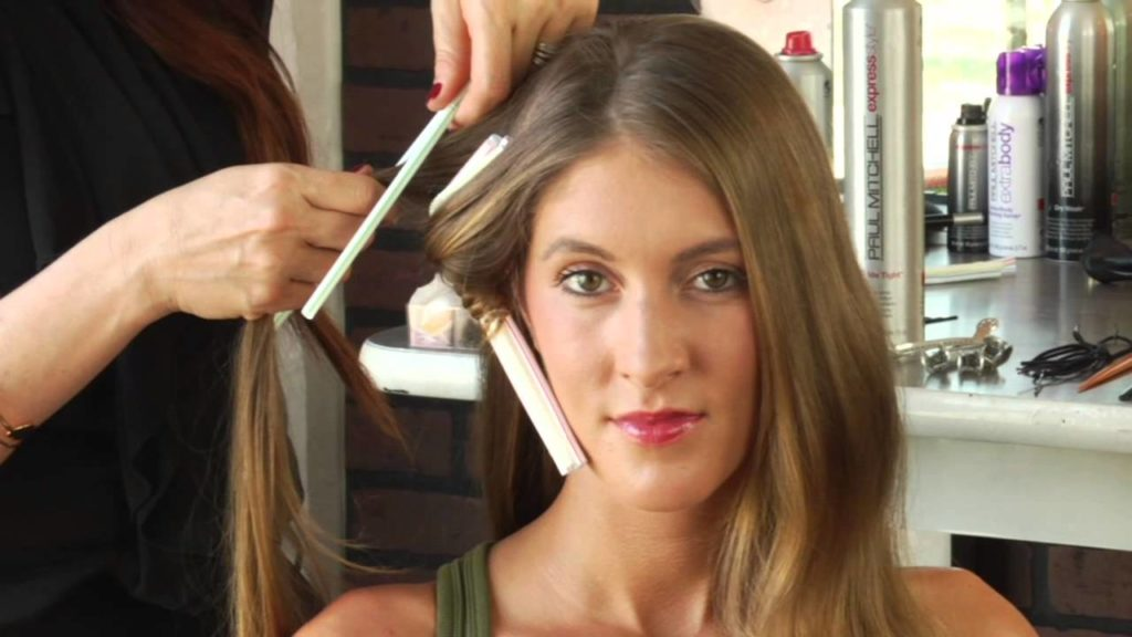 Hair straightener tips