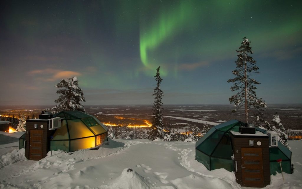 Ultra Romantic Winter Destination