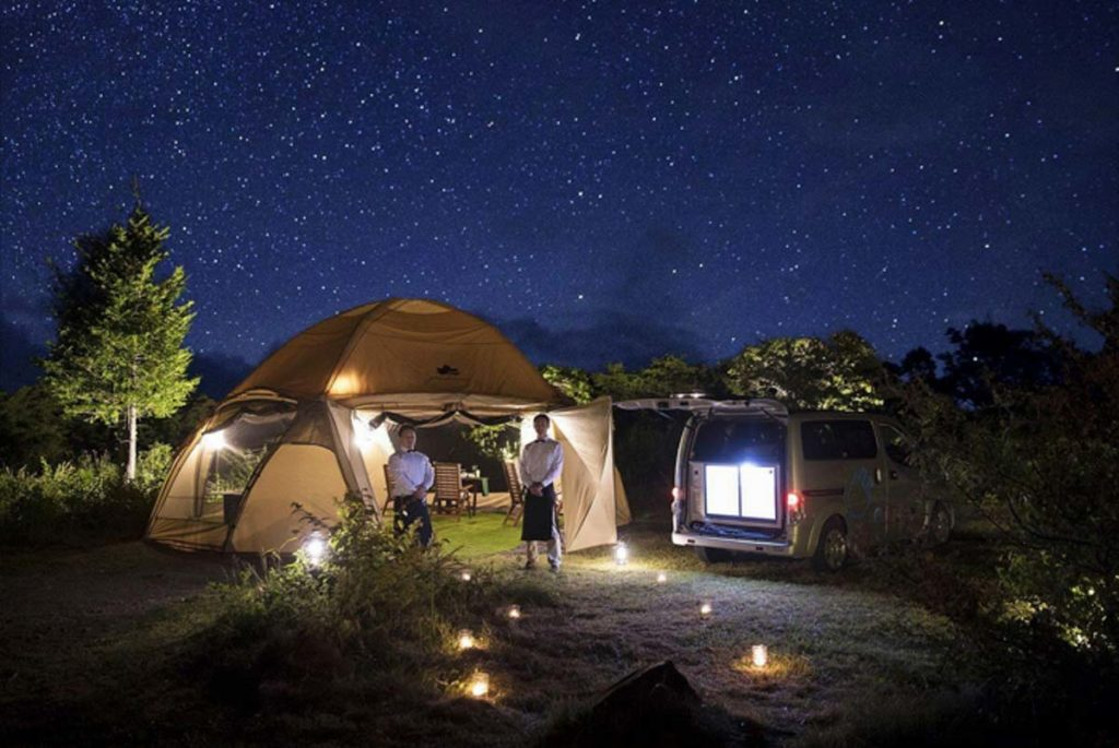 Get Your Camping Experience