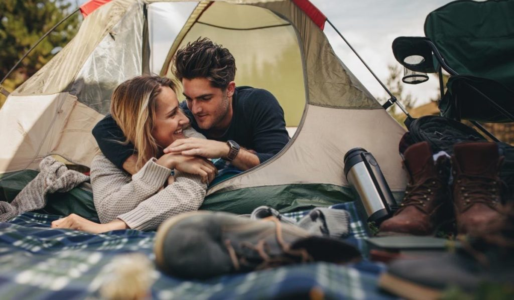 Romantic Camping Experience