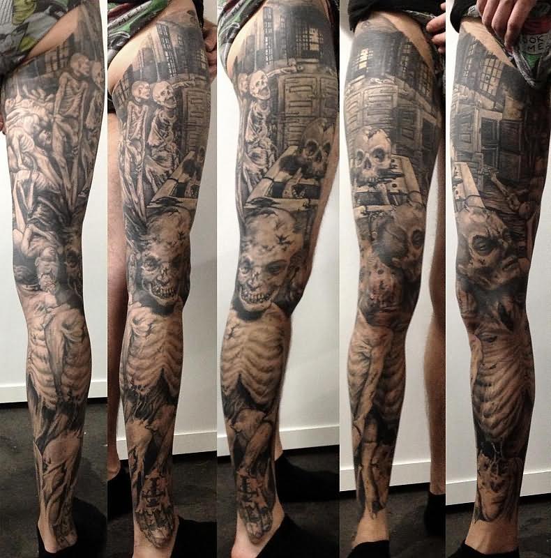 Leg henna tattoo designs
