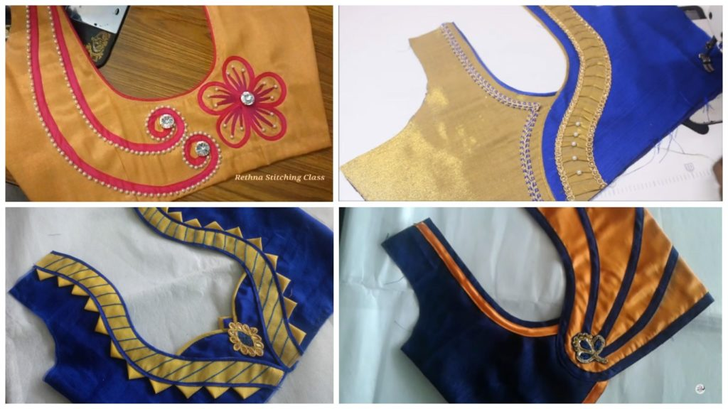 Blouse Neck Designs
