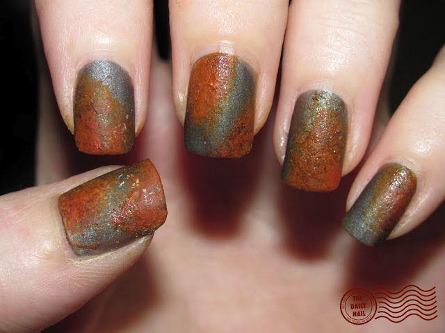 rusty nail art