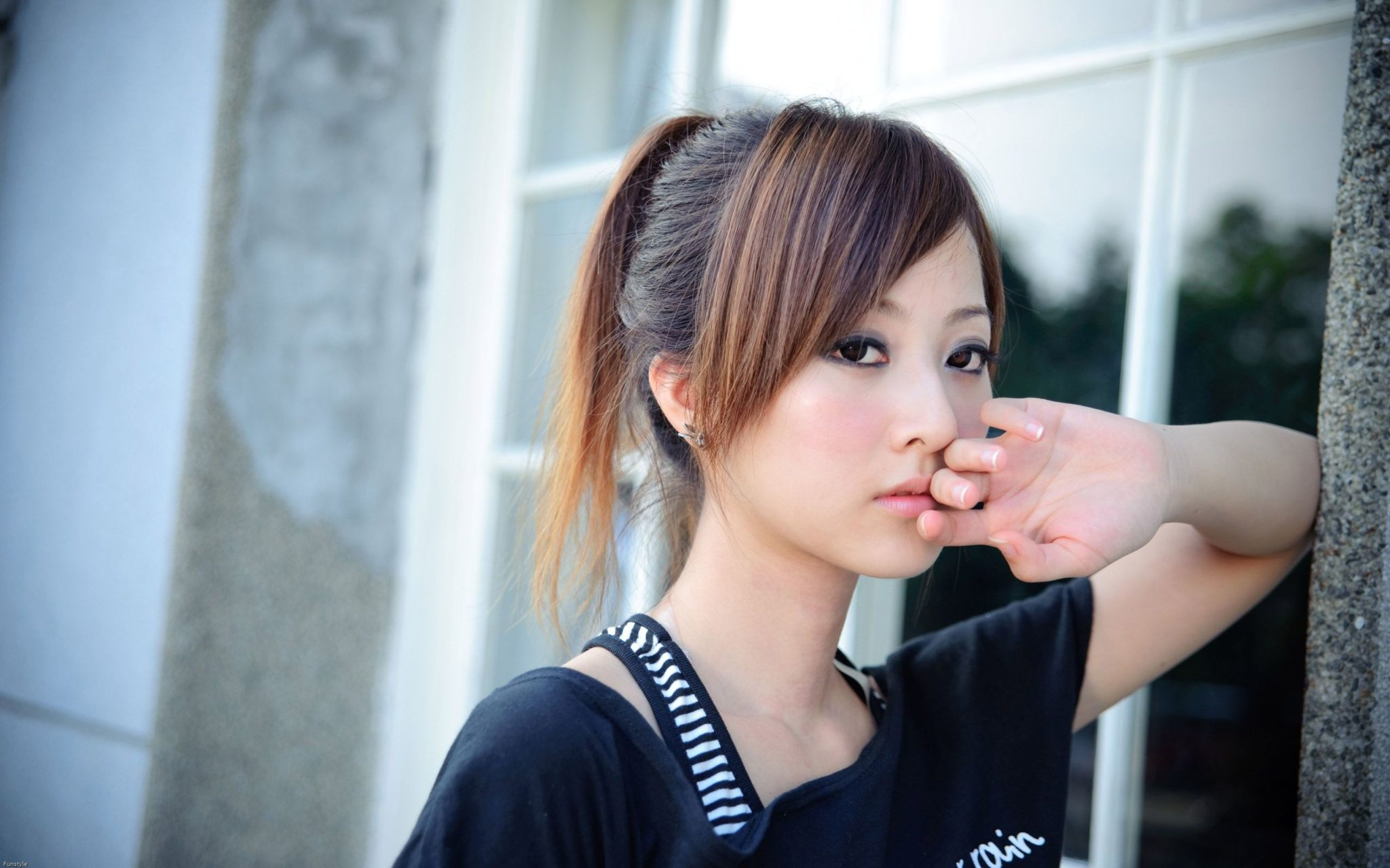 A Stylish Japanese Hairstyle