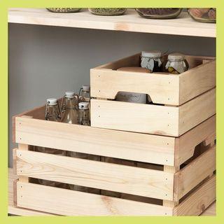 KNAGGLIG wooden box
