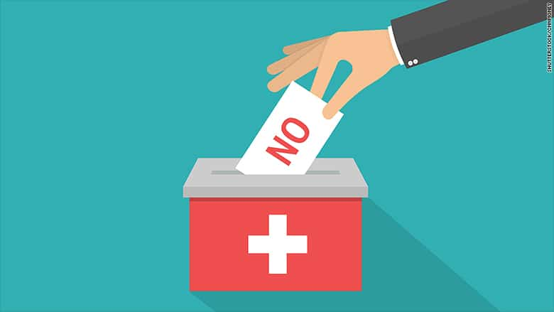 Swiss voters reject corporate tax overhaul