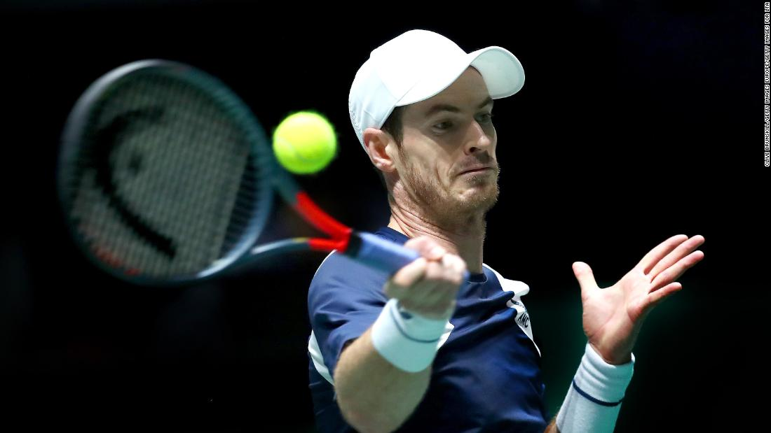 Andy Murray predicts tennis will be 'one of the last sports to get back to normality'