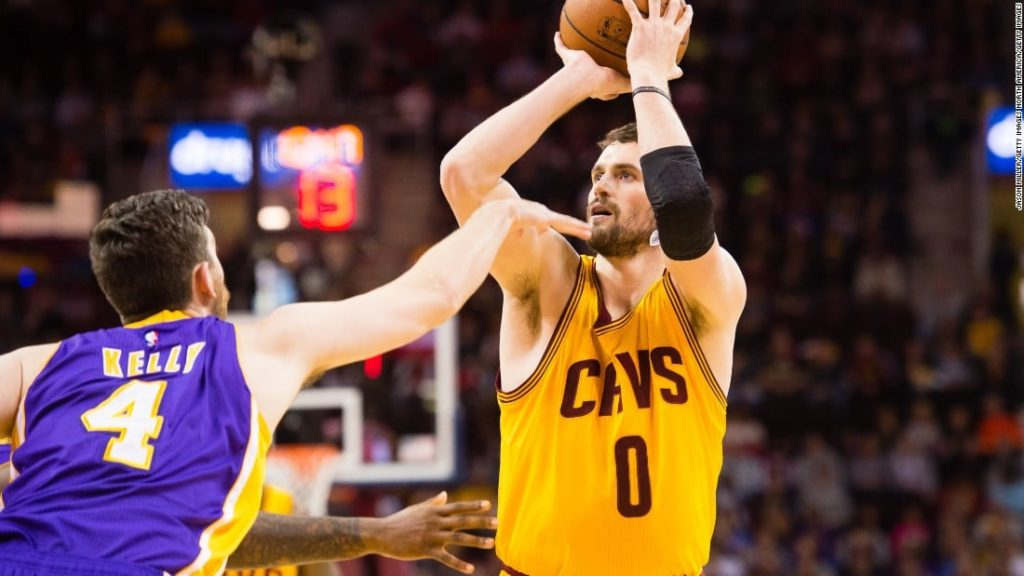 Kevin Love: Mental health 'a pandemic no one is talking about'