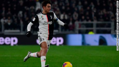 Juventus striker Paulo Dybala still COVID-19 positive after six weeks