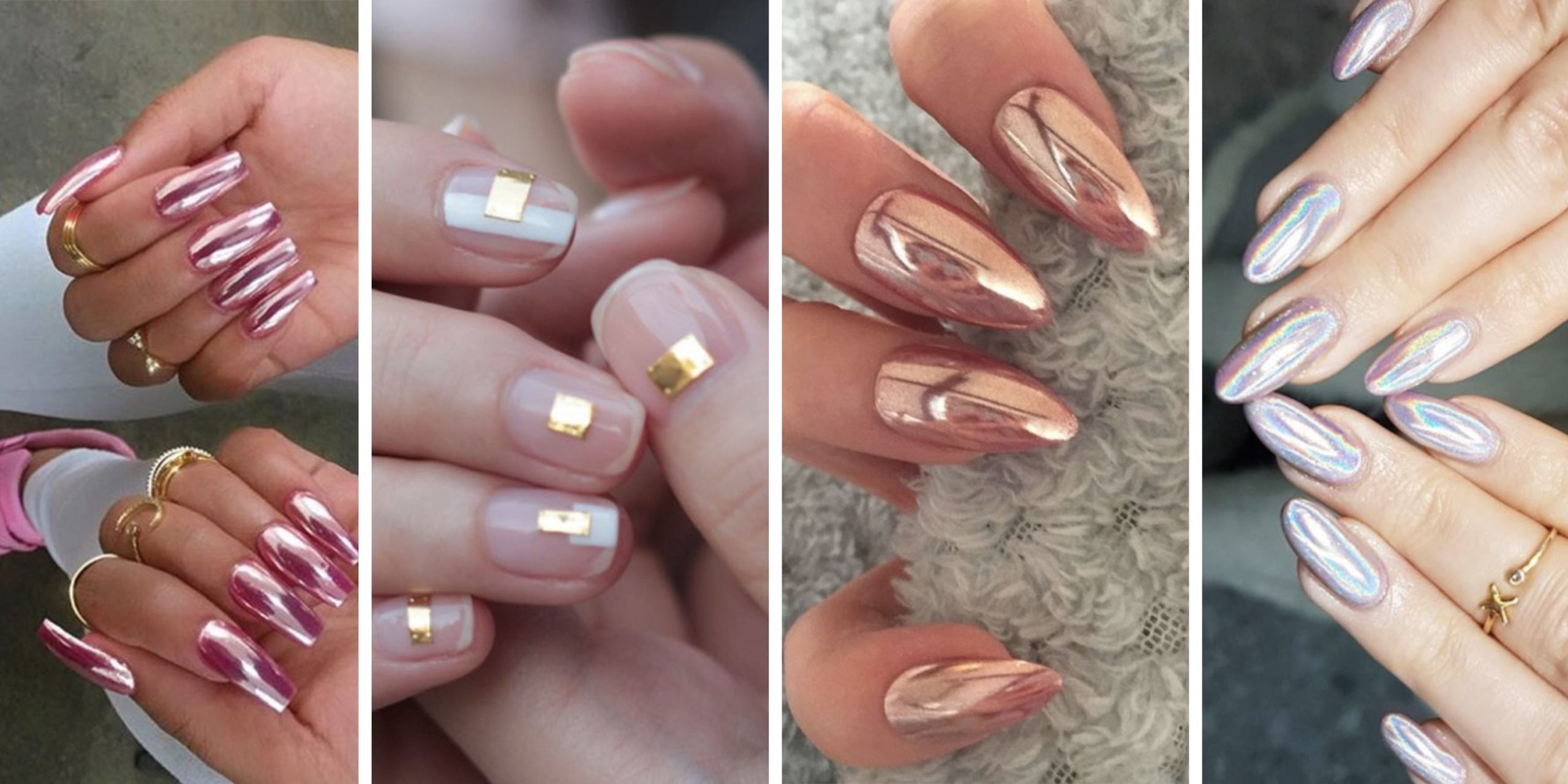 How to Apply French Nails With Glitter
