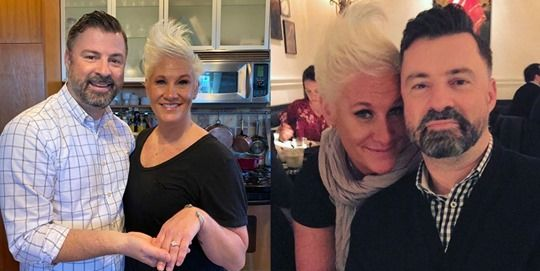 Food Network Star Anne Burrell Is Engaged To Stuart Claxton