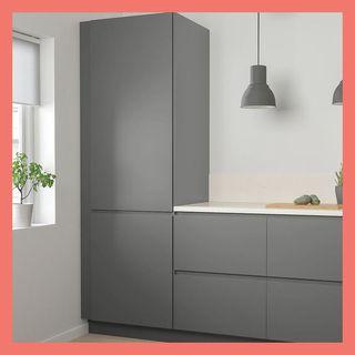 VOXTORP door, dark gray