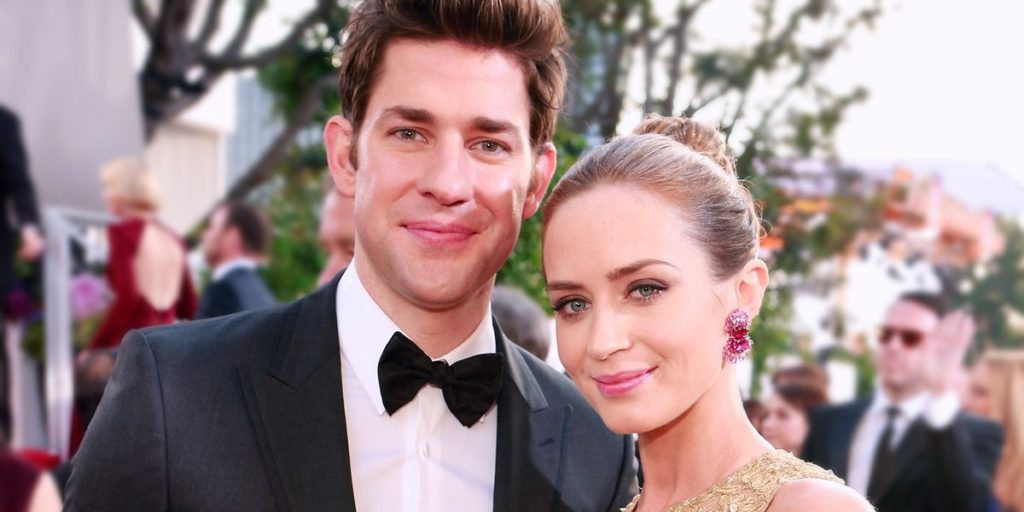 John Krasinski Joked That He's Only with Emily Blunt Because