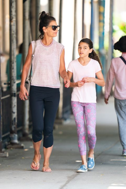 "Katie Holmes and Her Daughter Suri Cruise ""Saved Each Other"""