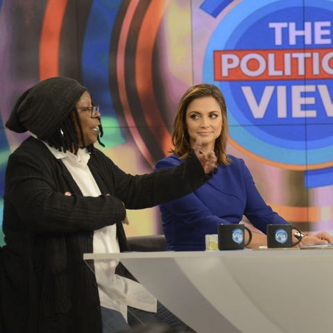 paula faris tackles rumored quarrel with 'the view' star whoopi goldberg on show