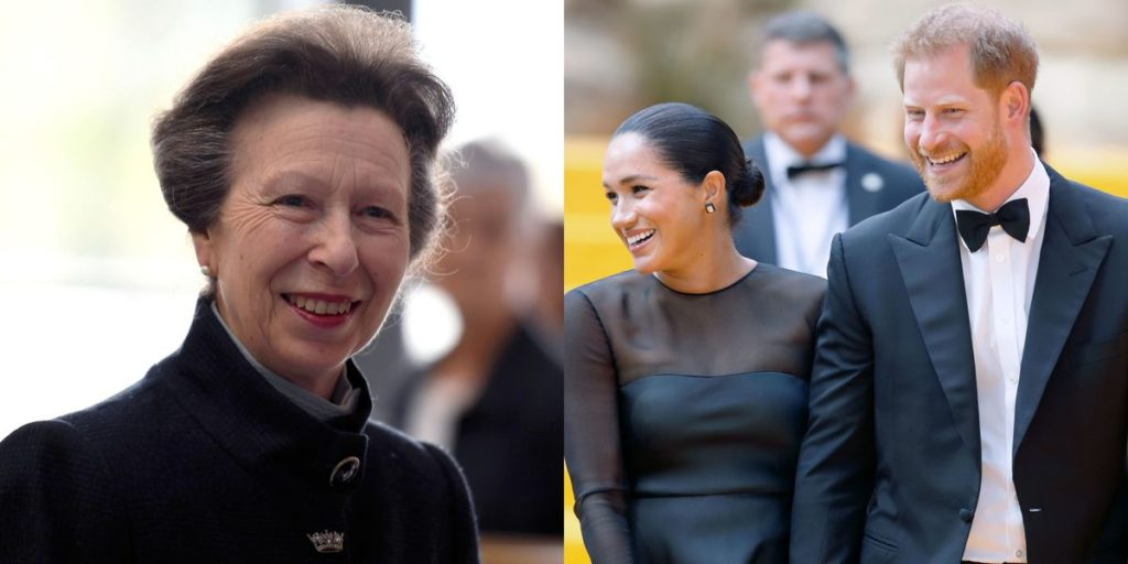 Princess Anne Supports Prince Harry and Meghan Markle's Royal Exit