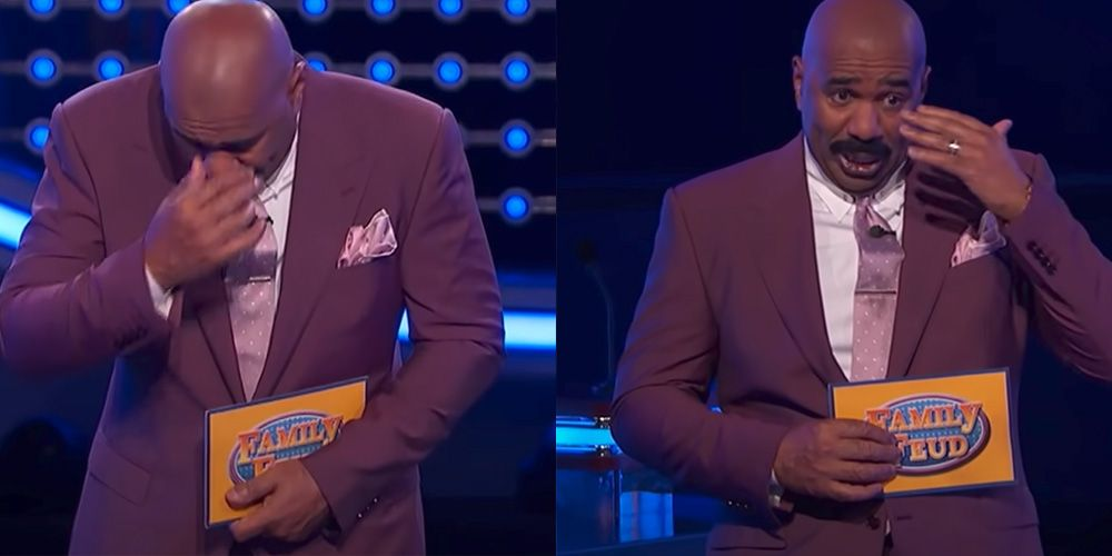 Steve Harvey Stopped 'Family Feud' Over a Contestant's Answer