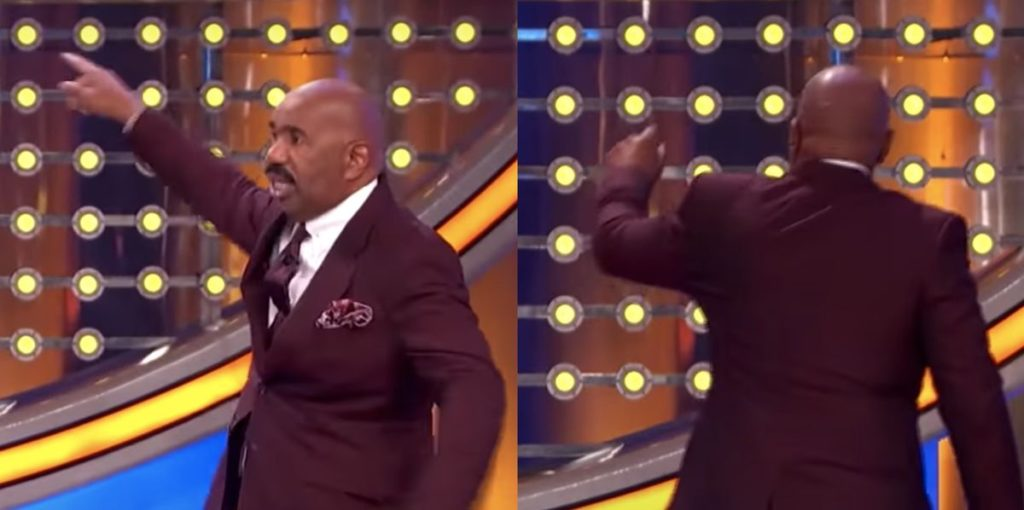 Steve Harvey Trashed Microphone Over 'Family Feud' Contestant's Crazy Answer