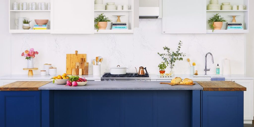 Watch How New Countertops Give the GH Kitchen a Chic