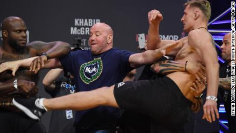UFC: 'I don't want to die,' says Dana White
