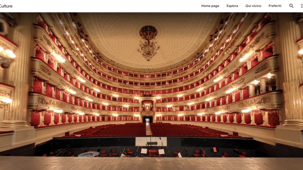 Online theaters: La Scala arrives on Google Arts & Culture