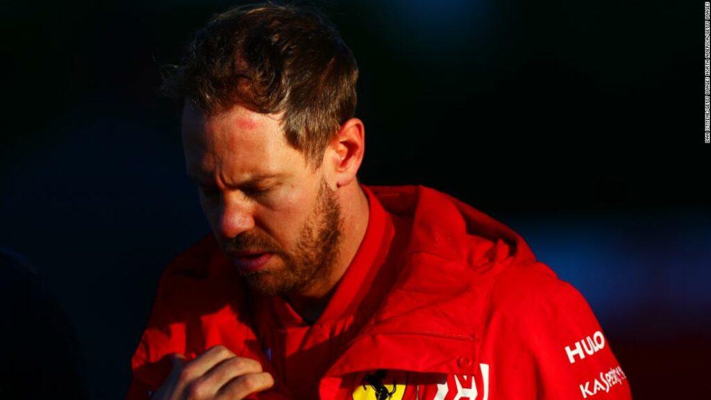 Sebastian Vettel will leave Ferrari at the end of the season