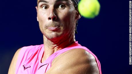 Rafael Nadal says that the 2020 tennis season is & # 39; practically lost & # 39; due to the coronavirus pandemic