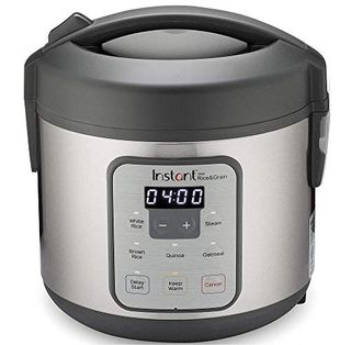Rice and steam cooker