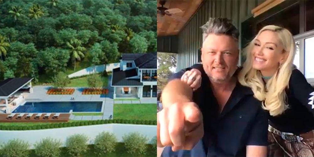 Blake Shelton and Gwen Stefani Just Bought A House