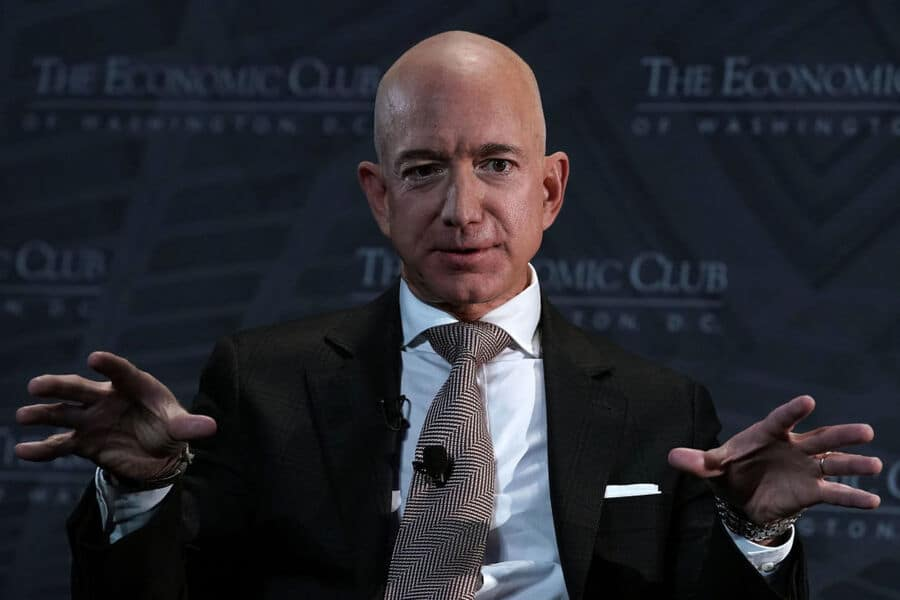 Jeff Bezos Is On Track To Become The World's First Trillionaire By 2026