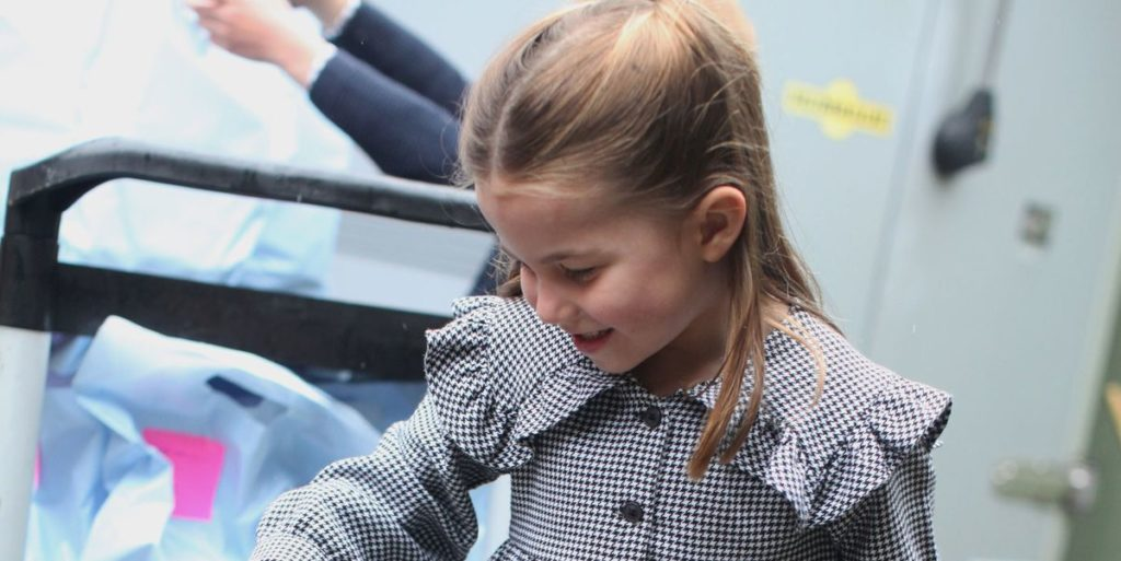 Kate Middleton Shares New Photos of Princess Charlotte Volunteering