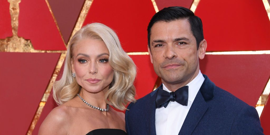 Mark Consuelos Faked a Flower Delivery to Catch Kelly Ripa