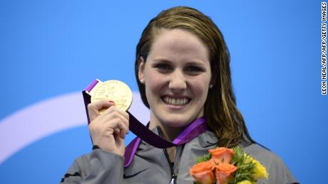 Missy Franklin won four London 2012 gold medals at the age of 17.