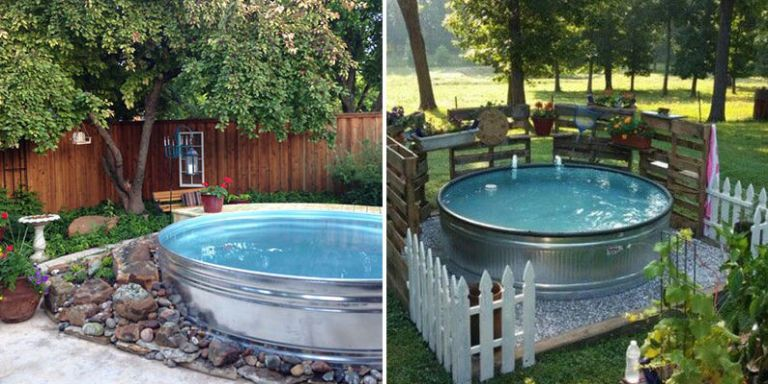Stock Tank Pools Are Going to be Super Popular This Summer