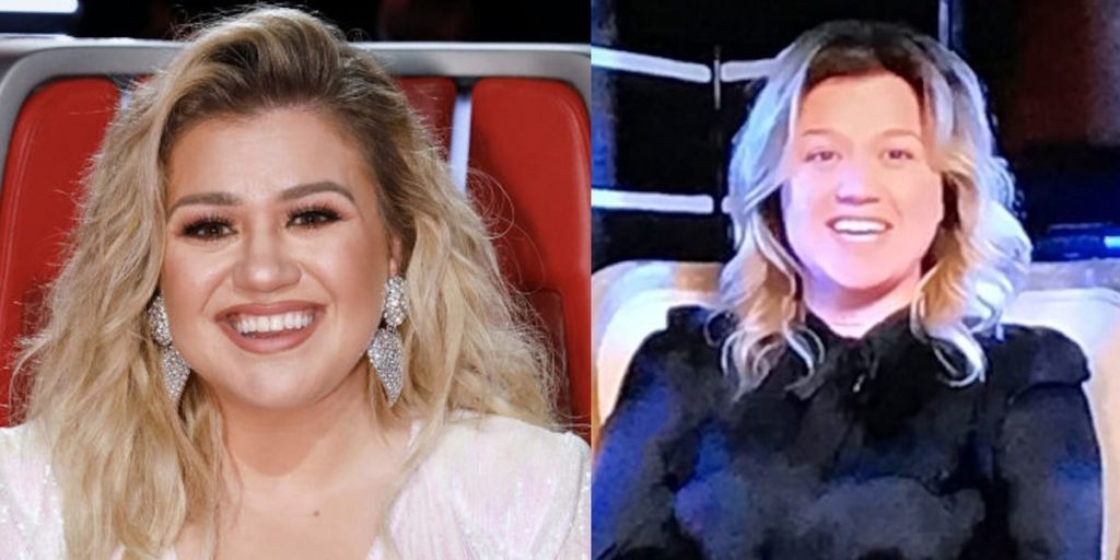 """'The Voice' Fans React to Coach Kelly Clarkson's """"No Makeup"""""""