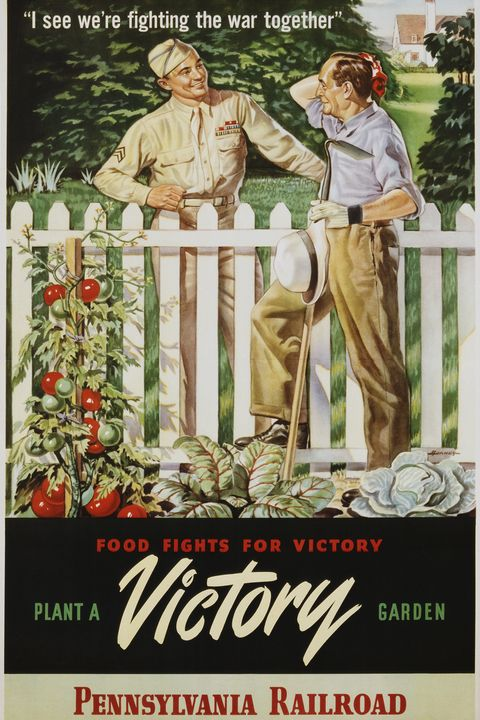 Essen fights for victory, plant a victory garden poster