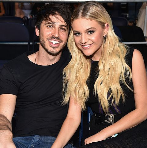 Kelsea Ballerini and husband Morgan Evans
