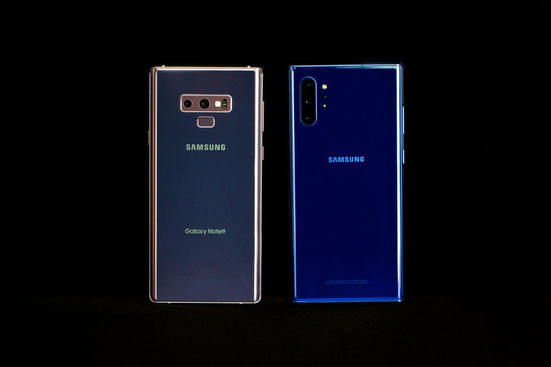 Samsung Galaxy Note 9 Note 10 Plus Comparison 2
