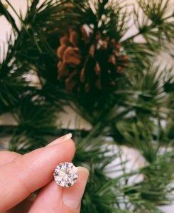 Gemstone earrings - almost famous piercing