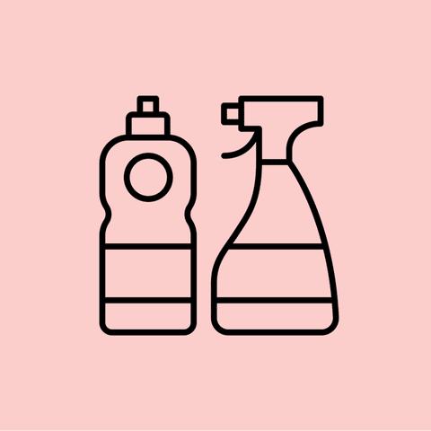 Dishwashing liquid illo