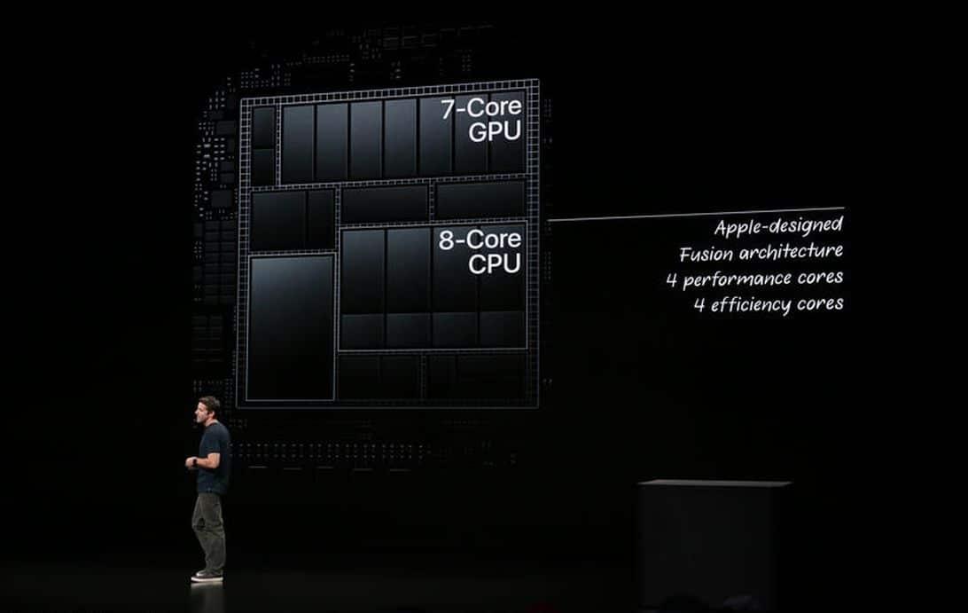 Apple iPad Pro 2018 chip