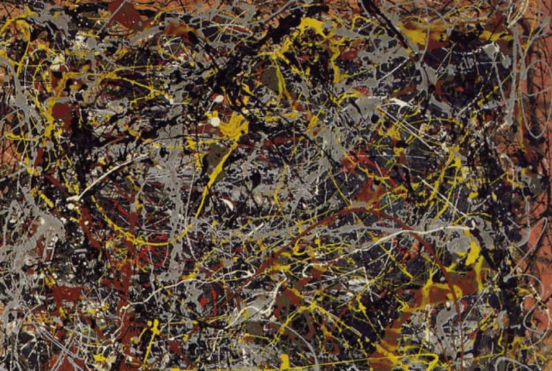 Most Expensive Paintings - No. 5, 1948 - Jackson Pollock
