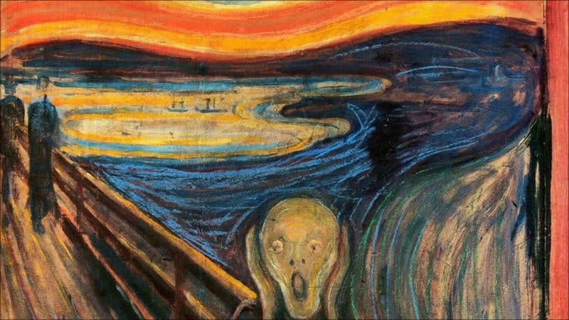 Most Expensive Paintings - The Scream - Edvard Munch