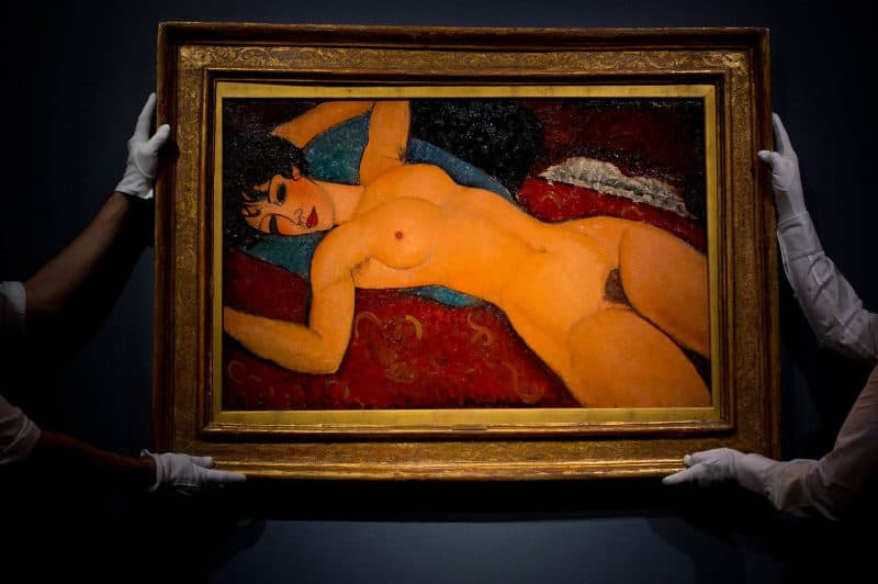 Most Expensive Paintings - Nu couché - Amedeo Modigliani