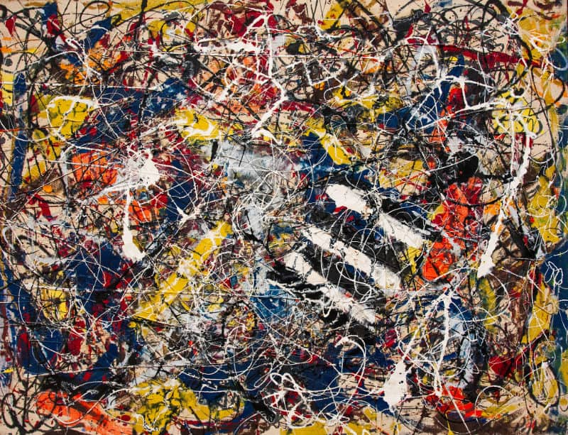 Most Expensive Paintings - Number 17A - Jackson Pollock