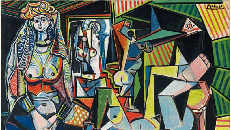 Most Expensive Paintings - Les Femmes d' Alger (Version O) - Pablo Picasso