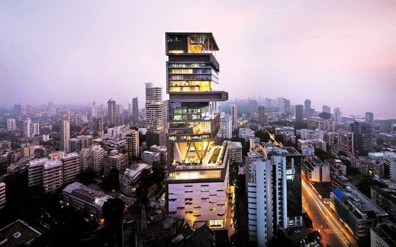 The most expensive houses - Antilla