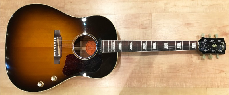 Most Expensive Guitars - Gibson J-160E Acoustic-Electric 1962 by John Lennon